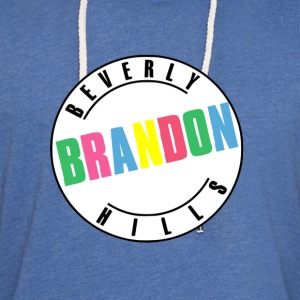 Beverly Hills Brandon T-Shirts - Unisex Lightweight Terry Hoodie