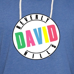Beverly Hills David T-Shirts - Unisex Lightweight Terry Hoodie