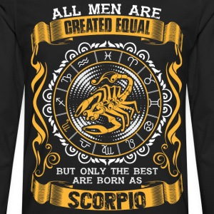All Men Are Created Equal But Only The Best Are T- - Men's Premium Long Sleeve T-Shirt
