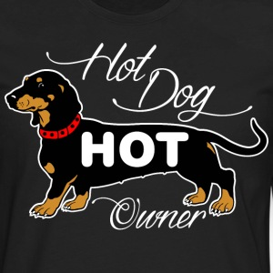Hot Dog Hot Owner T-Shirts - Men's Premium Long Sleeve T-Shirt