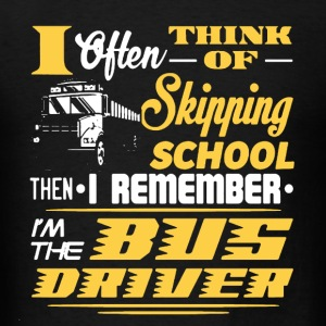 Bus Driver Shirt - Men's T-Shirt