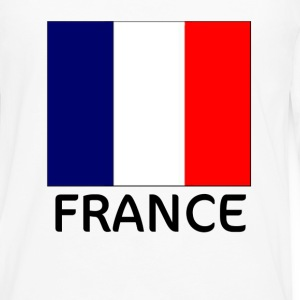 France Flag T-Shirt - Men's Premium Long Sleeve T-Shirt