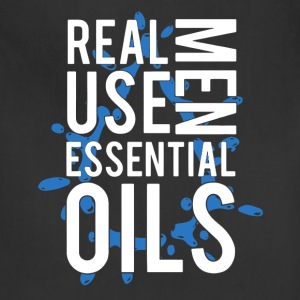 Real Men Use Essential Oils - Adjustable Apron