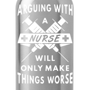Nurse Shirt - Water Bottle