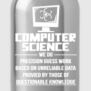 Computer Science Shirt - Water Bottle