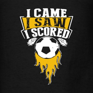 Came, Saw And Scored - Men's T-Shirt