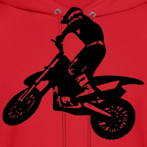 Motorbike Man - Dirt Racing Kids' Shirts - Men's Hoodie
