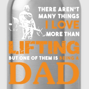 Lifting Dad Shirt - Water Bottle