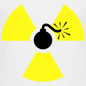 Nuclear Bomb (Radioactive Symbol) Kids' Shirts - Toddler Premium T-Shirt