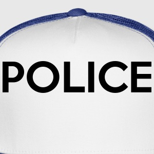 POLICE T-Shirts - Trucker Cap