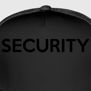 SECURITY Kids' Shirts - Trucker Cap