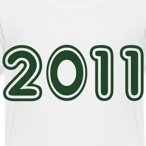 2011, Numbers, Year, Year Of Birth Kids' Shirts - Toddler Premium T-Shirt