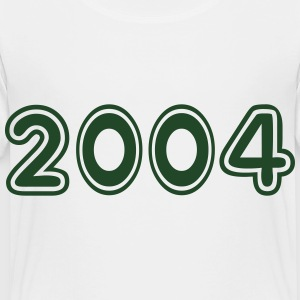 2004, Numbers, Year, Year Of Birth Kids' Shirts - Toddler Premium T-Shirt