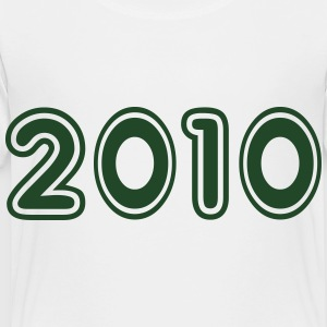 2010, Numbers, Year, Year Of Birth Kids' Shirts - Toddler Premium T-Shirt