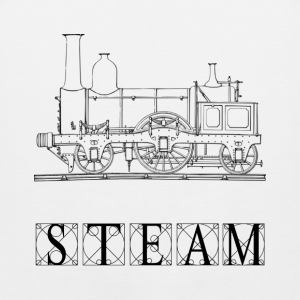 Steam Train - Men's Premium Tank