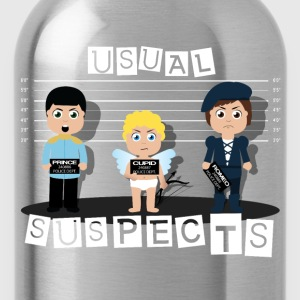 usual suspects - Water Bottle