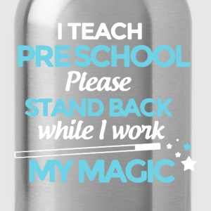 Teach Pre School Shirt - Water Bottle