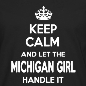 Michigan Girl Shirt - Men's Premium Long Sleeve T-Shirt