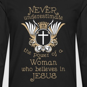 Jesus Shirt - Men's Premium Long Sleeve T-Shirt