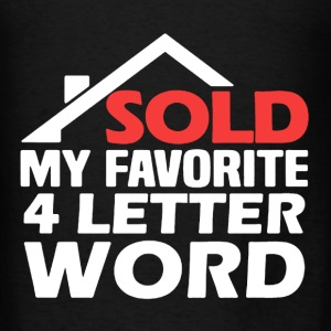 Real Estate Sold - Men's T-Shirt