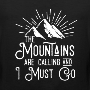 The Mountains Shirt - Men's Premium Tank