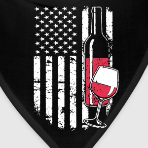 Wine Flag Shirt - Bandana