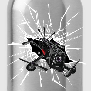 Drone Crash T-Shirts - Water Bottle