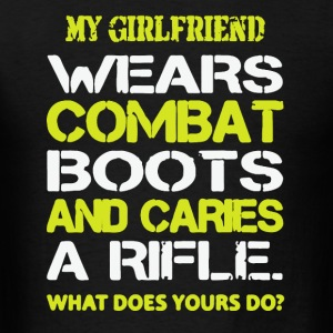 Soldier Boyfriend Shirt - Men's T-Shirt