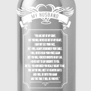 My Husband Shirt - Water Bottle