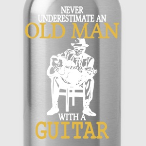 Old Man With A Guitar - Water Bottle