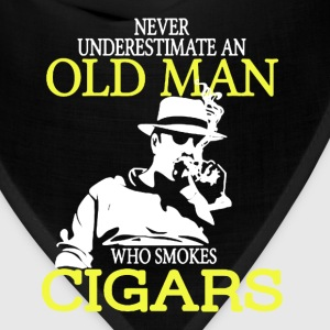 Old Man Who Smokes Cigars - Bandana