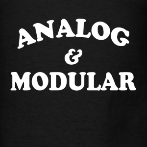 Analog and Modular Hoodies - Men's T-Shirt
