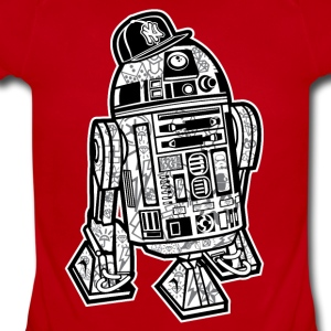 R2D2 Star Wars Gangster Kids' Shirts - Short Sleeve Baby Bodysuit