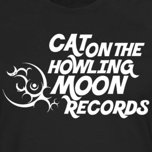 Cat on the Howling Moon logo (shirt) T-Shirts - Men's Premium Long Sleeve T-Shirt