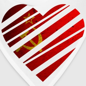 Soviet Union Heart T-Shirts - Bandana