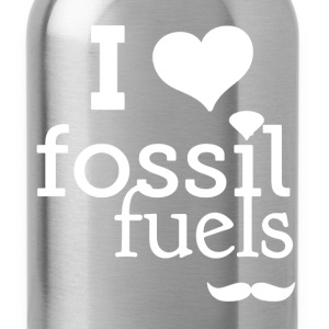 I Love Fossil Fuels - Water Bottle