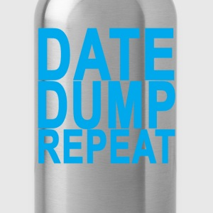 date_dump_repeat_ - Water Bottle