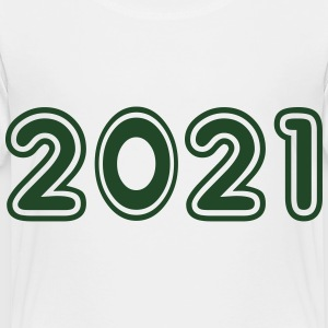 2021, Numbers, Year, Year Of Birth Kids' Shirts - Toddler Premium T-Shirt