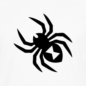 Spider Silhouette T-Shirts - Men's Premium Long Sleeve T-Shirt