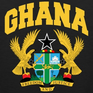 Ghana Coat Of Arms Tee - Men's Premium Tank