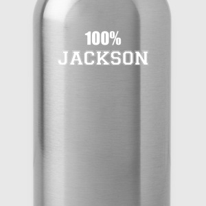 100% jackson T-Shirts - Water Bottle