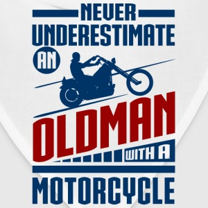 Old Man With Motorcycle T-Shirts - Bandana