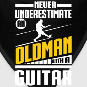 Old Man With A Guitar T-Shirts - Bandana