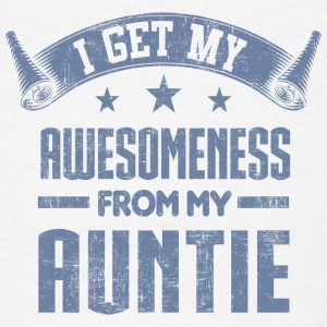 Awesomeness From My Aunt Baby Bodysuits - Men's T-Shirt