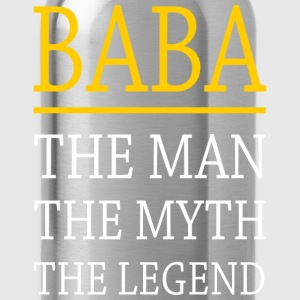 Baba The Legend T-Shirts - Water Bottle