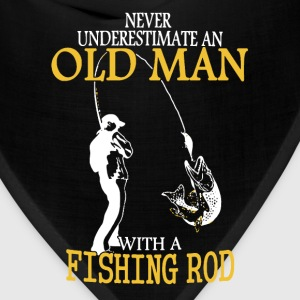 Old Man Fishing Shirt - Bandana