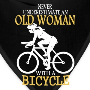 Old Man Bicycle Shirt - Bandana