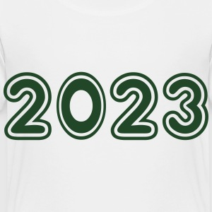 2023, Numbers, Year, Year Of Birth Kids' Shirts - Toddler Premium T-Shirt