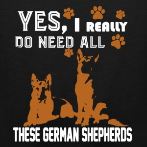 Need All These German Shepherds - Men's Premium Tank