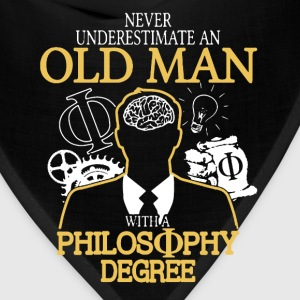 Old Man With Philosophy Degree - Bandana
